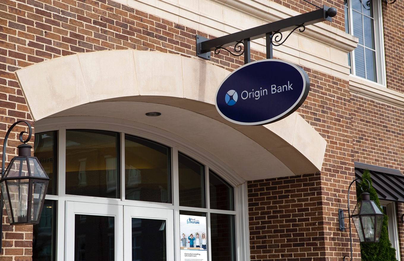 Photo of Origin Bank branch
